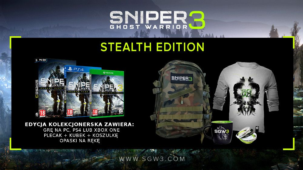 sniper ghost warrior 3 collector s edition pc