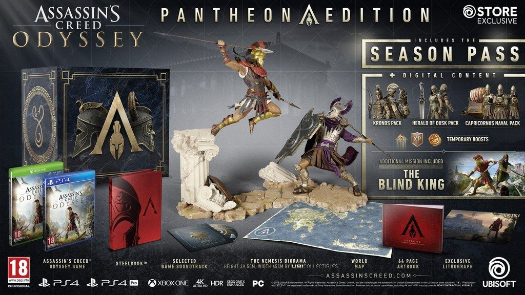 Assassin's Creed Odyssey PANTHEON