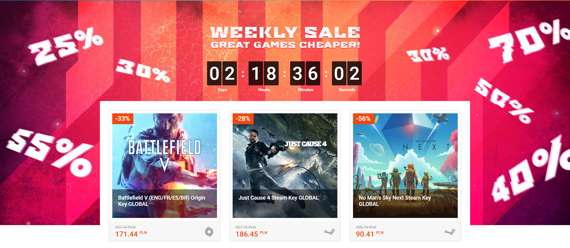 G2A Weekly Sale