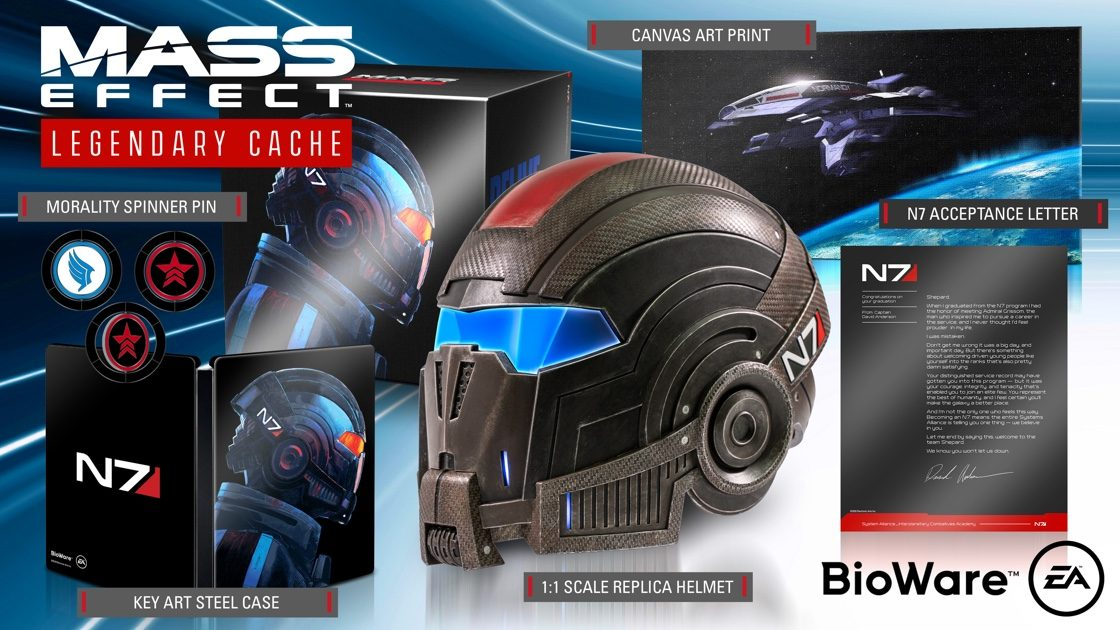 Mass Effect edycja legendarna (LEGENDARY CACHE)