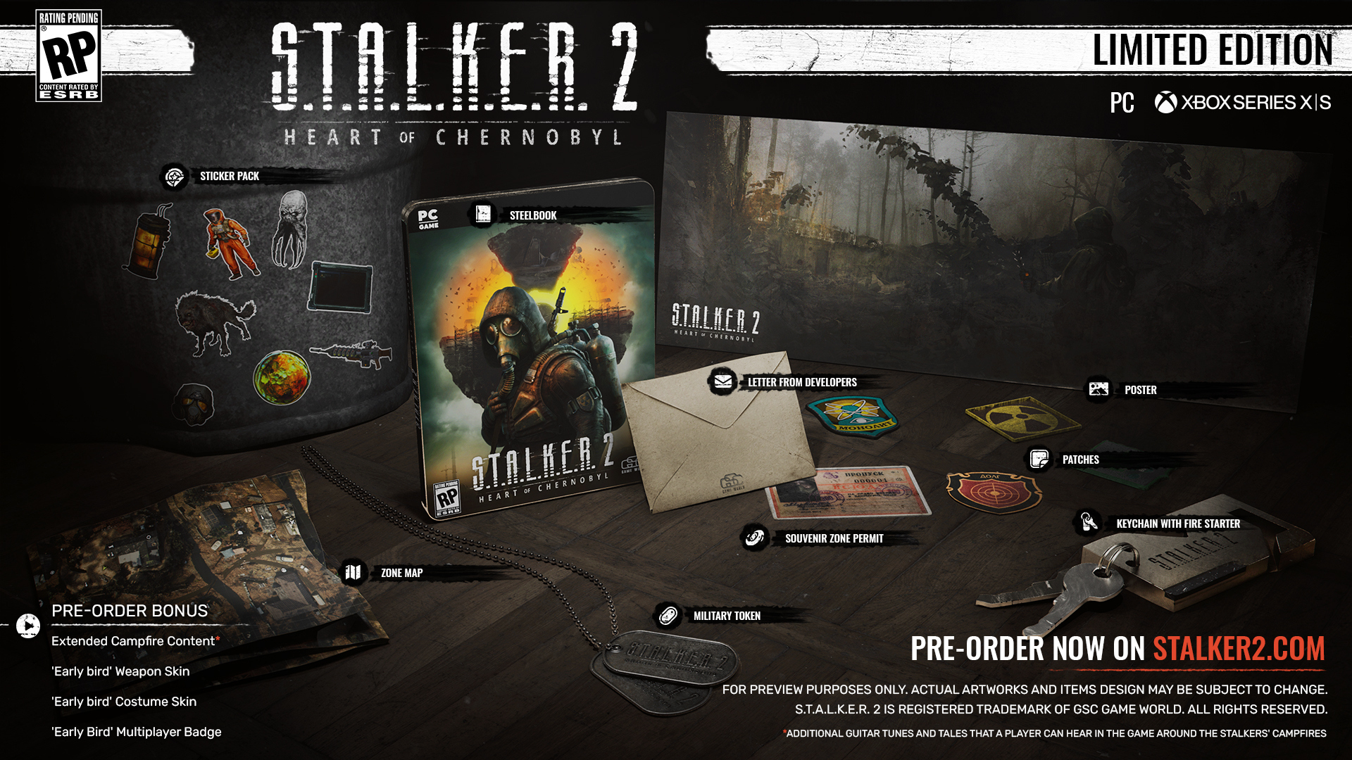 S.T.A.L.K.E.R. 2 Standard Edition & Limited Edition