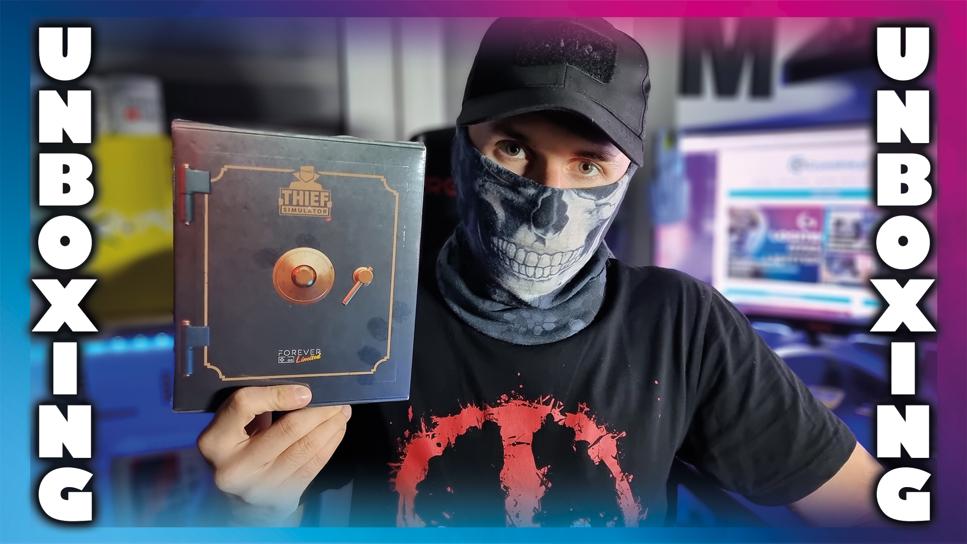Thief Simulator Limited (Forever Limited) - UNBOXING